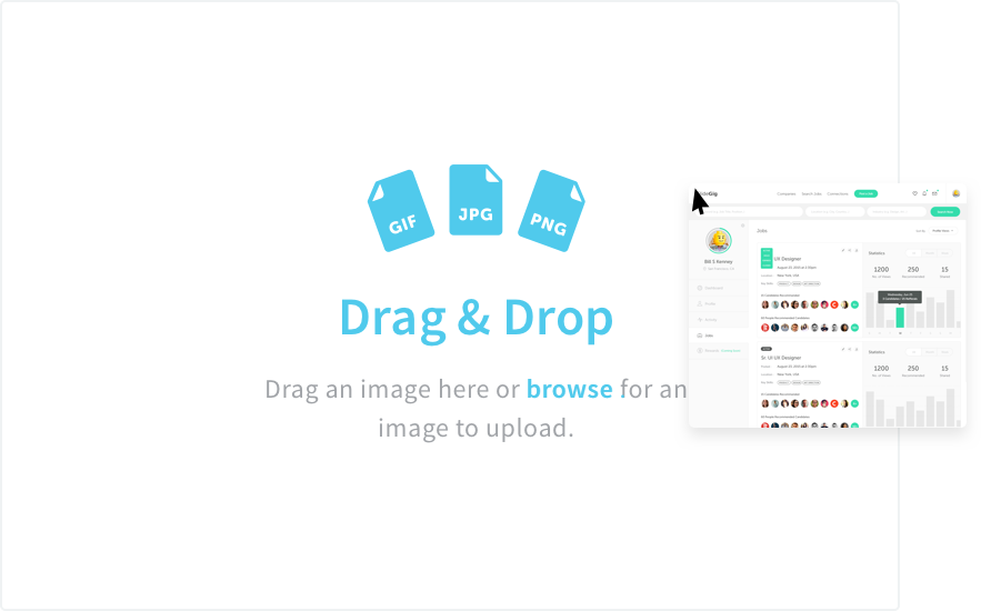 File Upload Drag and Drop